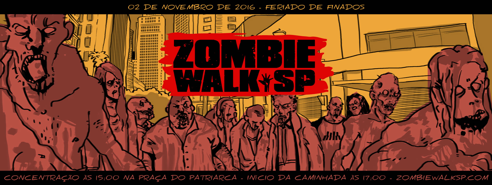 Zombie Walk SP - Flyer 2016