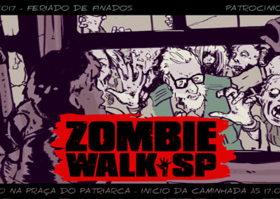 Zombie Walk SP - Flyer 2017