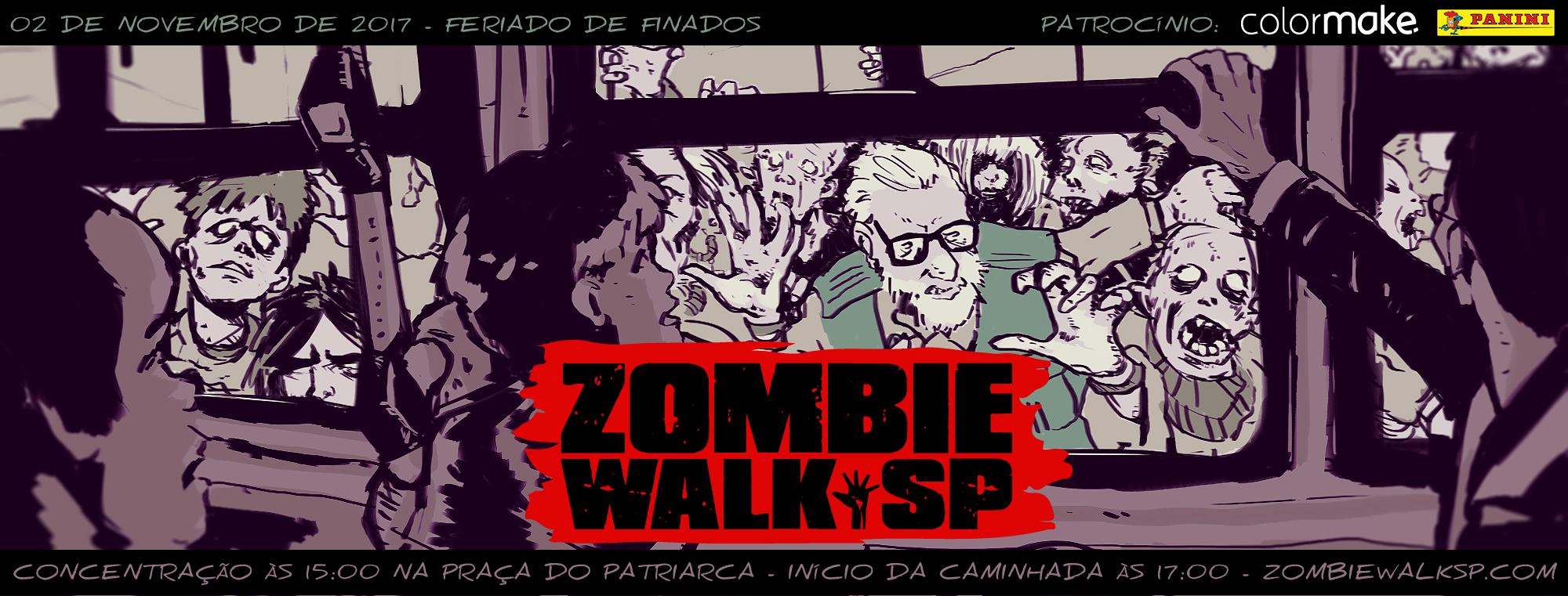 Zombie Walk SP - Flyer 2017