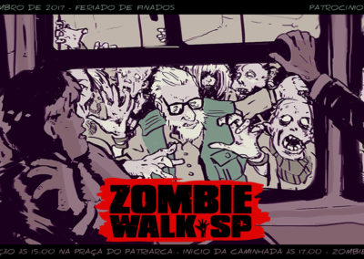 Zombie Walk SP - Flyer 2017 - Event