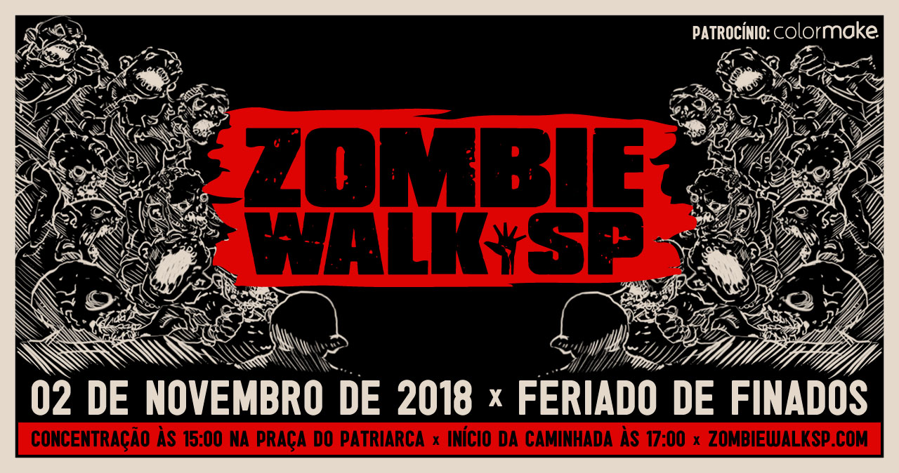 Zombie Walk SP - Flyer 2018