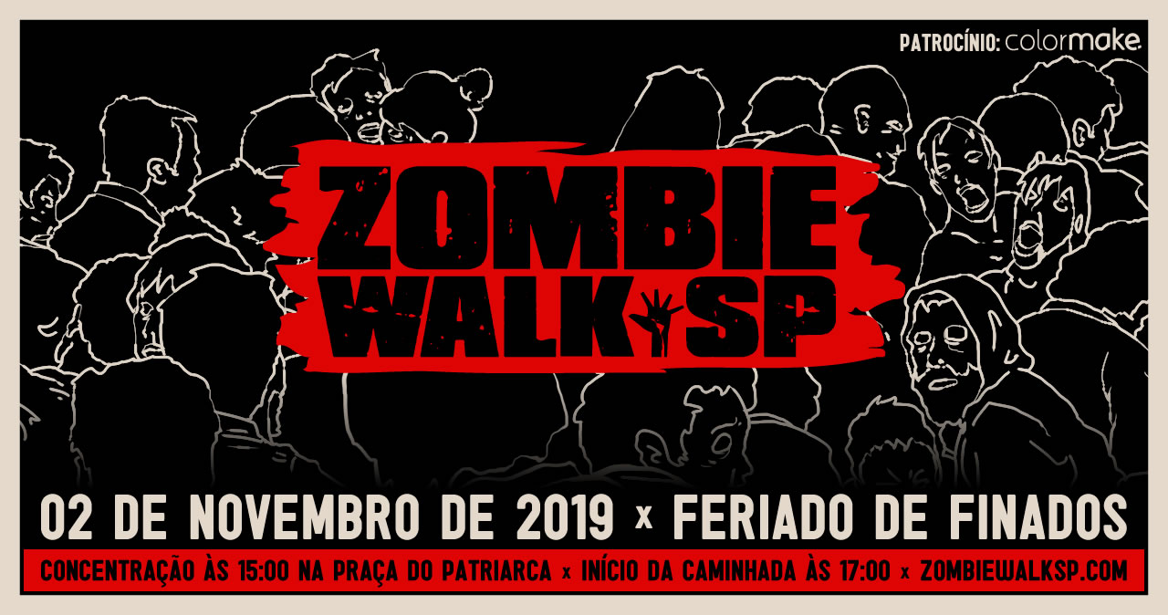 Zombie Walk SP - Flyer 2019 Site
